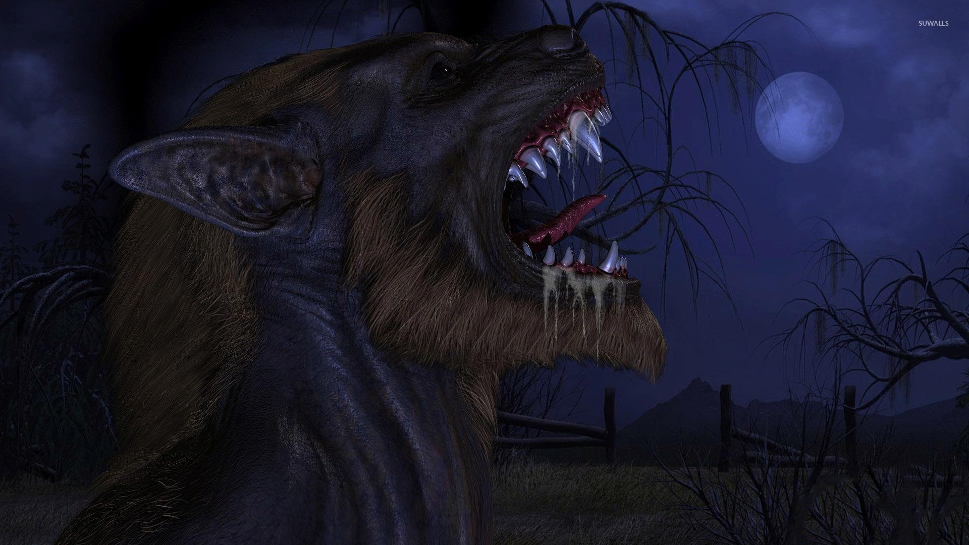werewolf wallpaper   fantasy wallpapers   33131