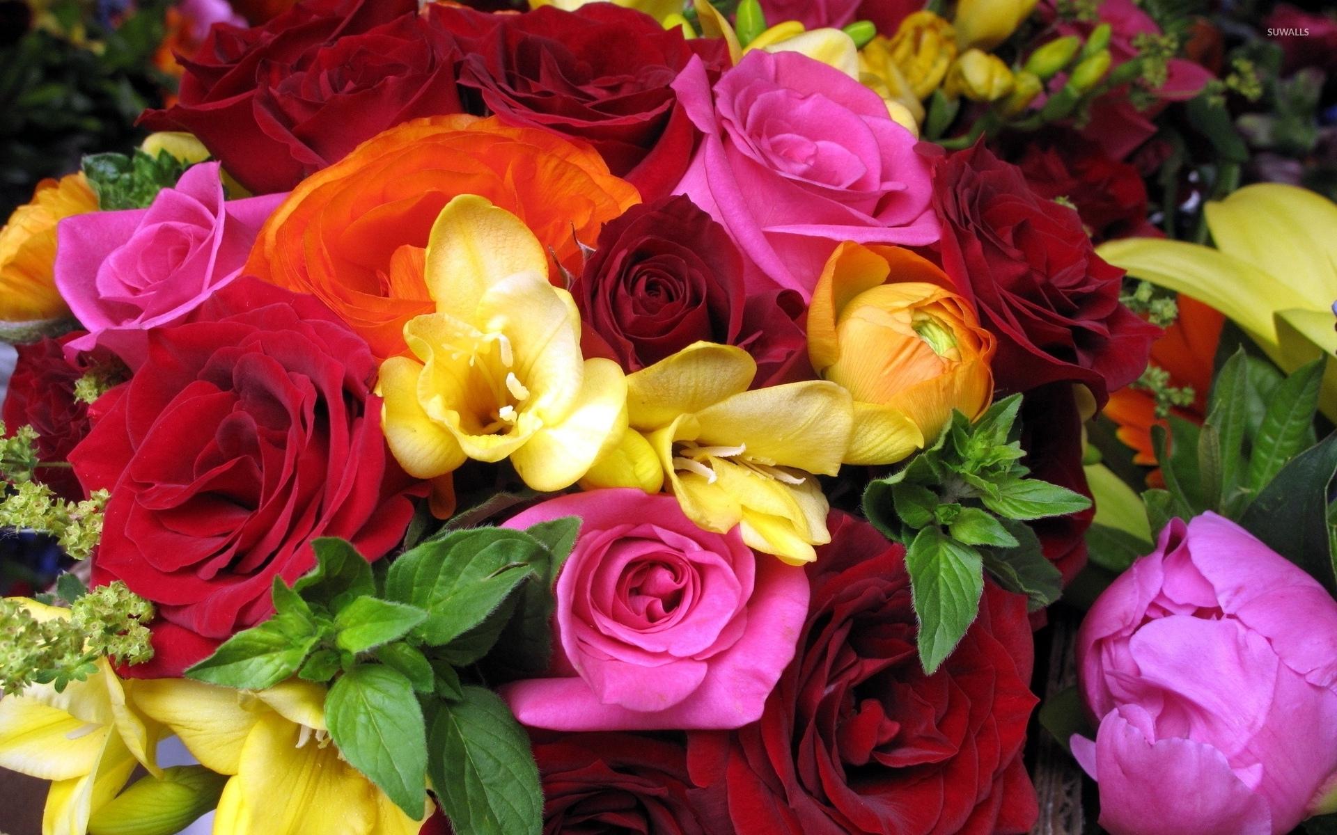 Beautiful Bouquet Wallpaper