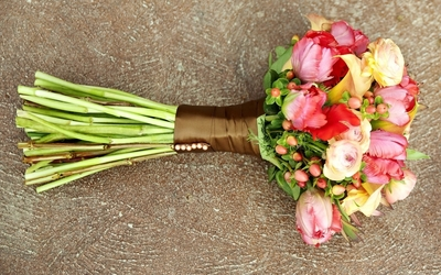 Beautiful bridal bouquet wallpaper