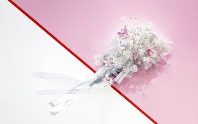Bride's bouquet wallpaper