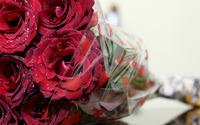 Red velvet rose bouquet wallpaper 1920x1080 jpg