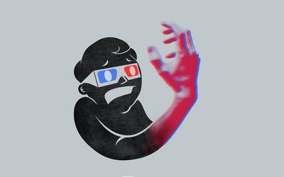 3D hand wallpaper