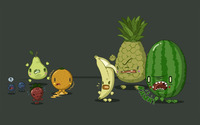 Angry fruit wallpaper 1920x1200 jpg