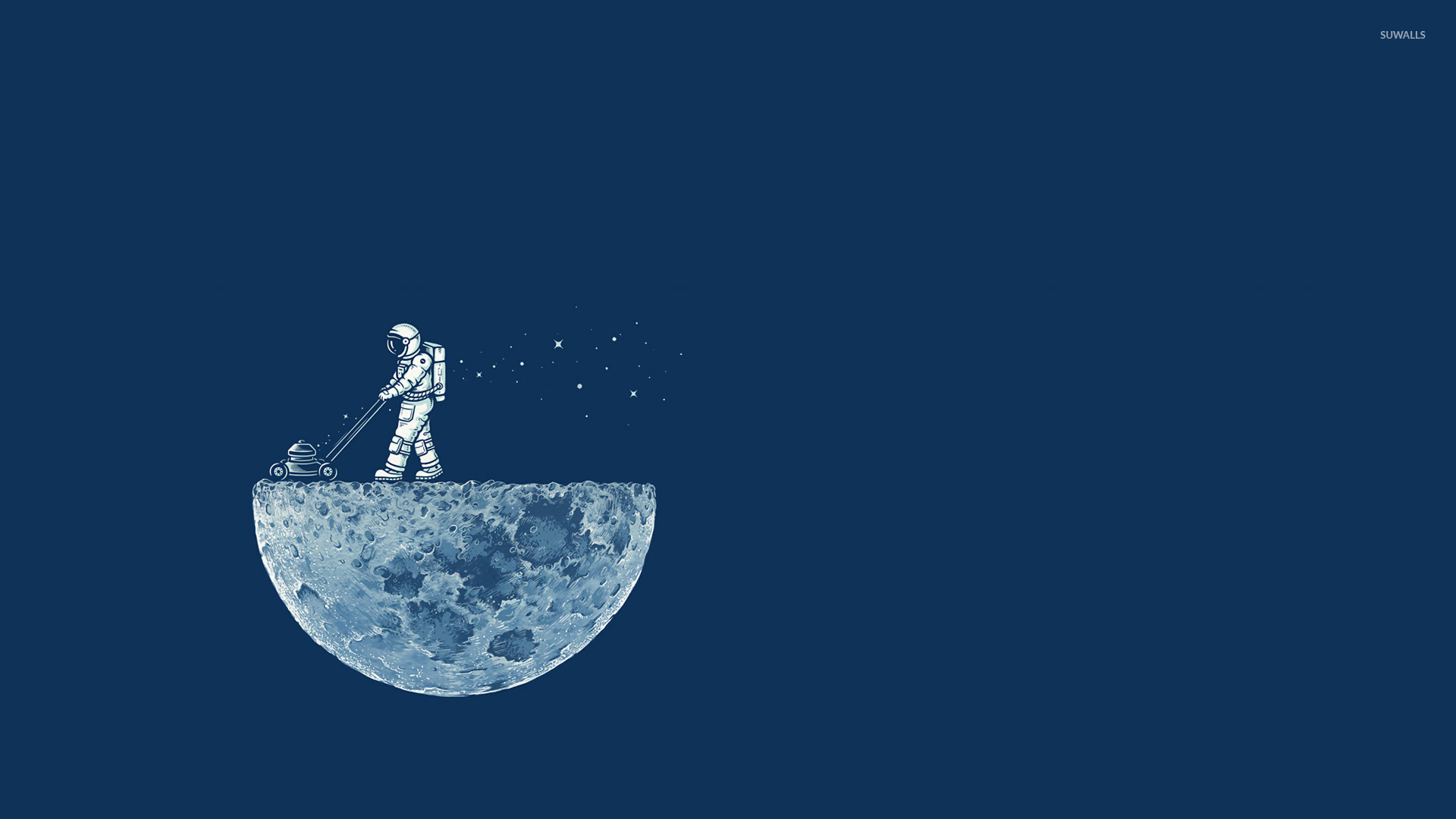 astronaut on moon earth background - photo #20