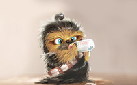 Baby Chewbacca wallpaper 1920x1200 jpg