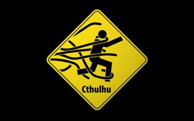Beware of Cthulhu wallpaper