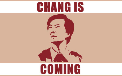 Chang is coming wallpaper