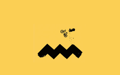 Charlie Brown cycling wallpaper