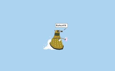 Dalek Exfoliate wallpaper