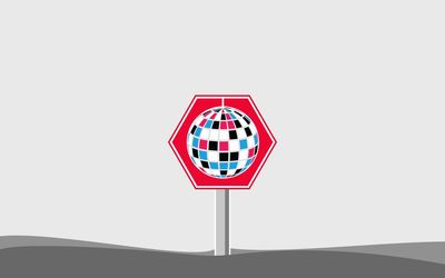 Disco ball sign wallpaper