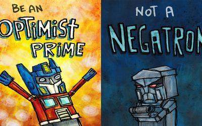 Don't be a Negatron Wallpaper