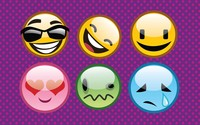 Emoticons wallpaper 2880x1800 jpg