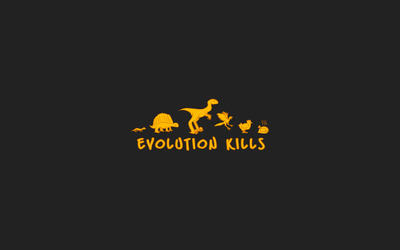 Evolution kills wallpaper