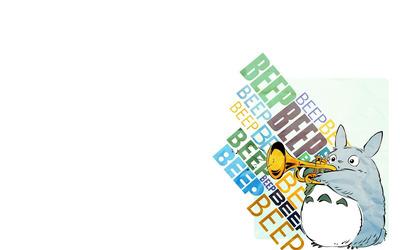 Fat Trumpet Bunny wallpaper