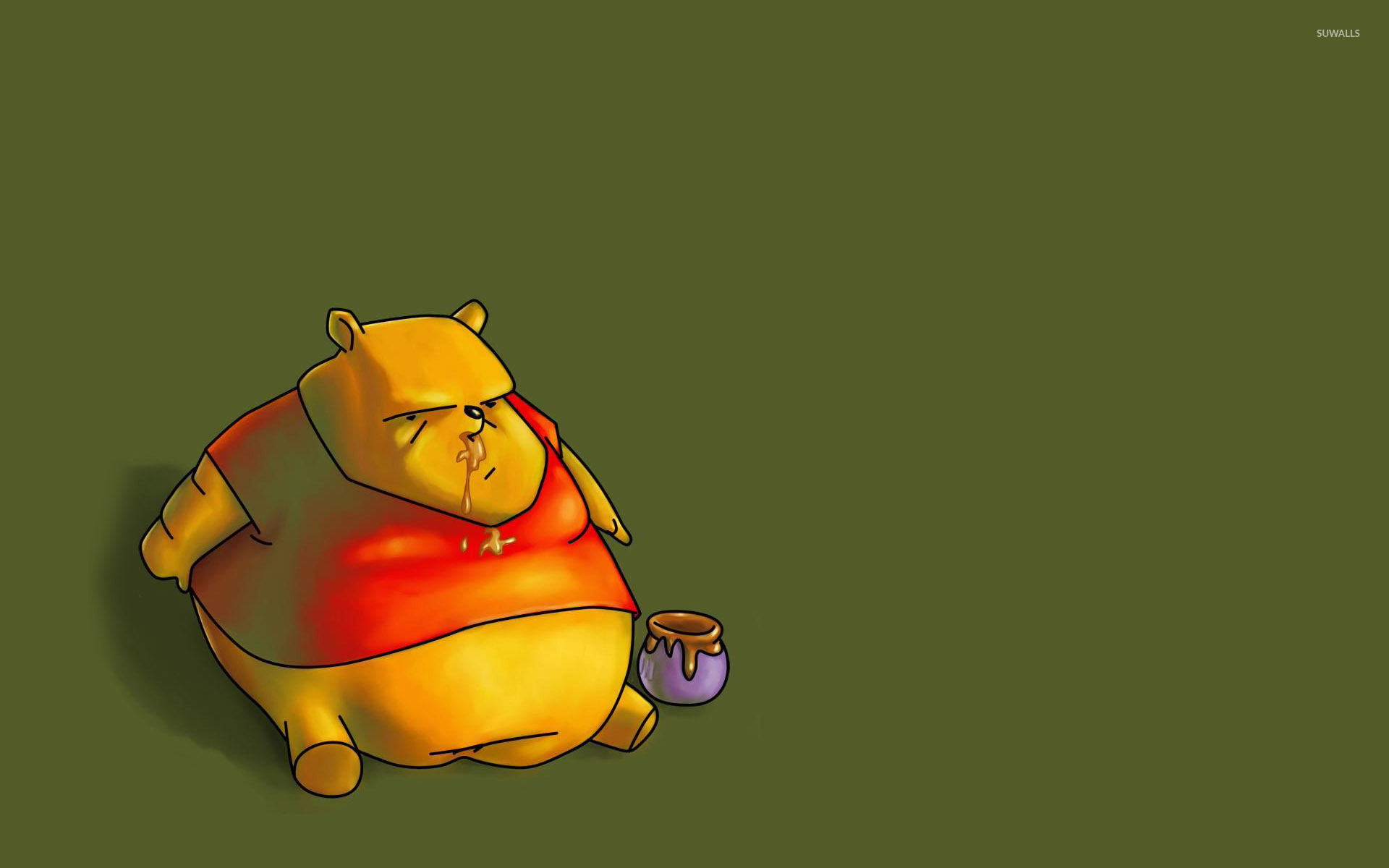 fat winnie wallpaper funny wallpapers 28665