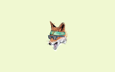 Fox [6] wallpaper