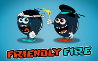 Friendly fire between bombs wallpaper 1920x1080 jpg