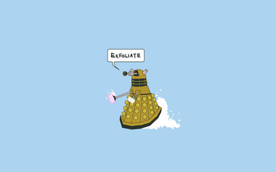 Funny Dalek wallpaper