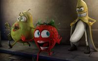 Funny fruits wallpaper 1920x1200 jpg