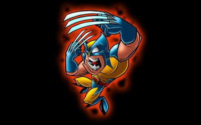 Funny Wolverine wallpaper