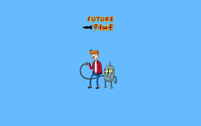 Future Time wallpaper