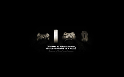 Game controllers wallpaper