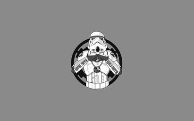 Gangsta' Stormtrooper wallpaper