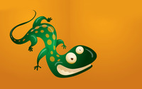 Grinning lizard wallpaper 1920x1200 jpg