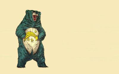 Grown up Care bear wallpaper