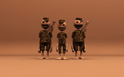 Helpless soldiers wallpaper