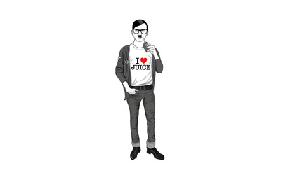 Hipster Hitler wallpaper