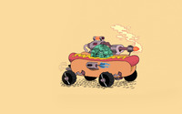Hot dog car wallpaper 1920x1200 jpg
