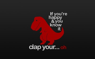 If you happy clap your... wallpaper
