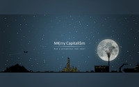 Merry Capitalism and a prosperous new year wallpaper 1920x1200 jpg