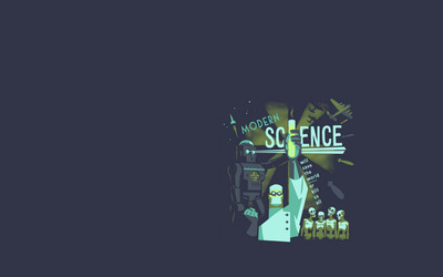 Modern science wallpaper