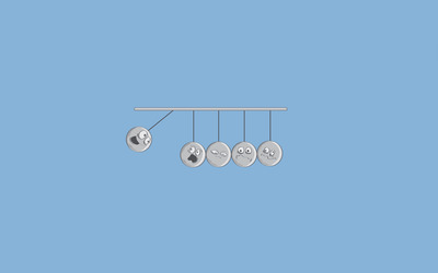 Newton's Cradle [2] wallpaper
