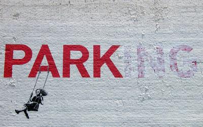 Parking or park wallpaper
