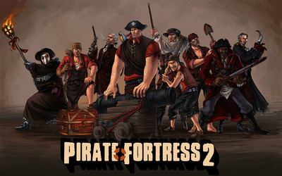 Pirate Fortress 2 wallpaper