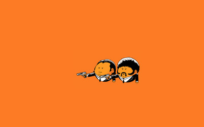 Pulp Fiction Oranges wallpaper