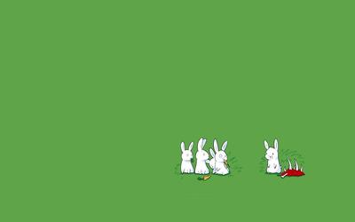 Rabbits [5] wallpaper