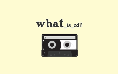 Tape wondering what is CD wallpaper
