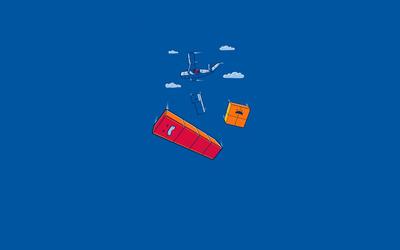 Tetris Airdrop wallpaper