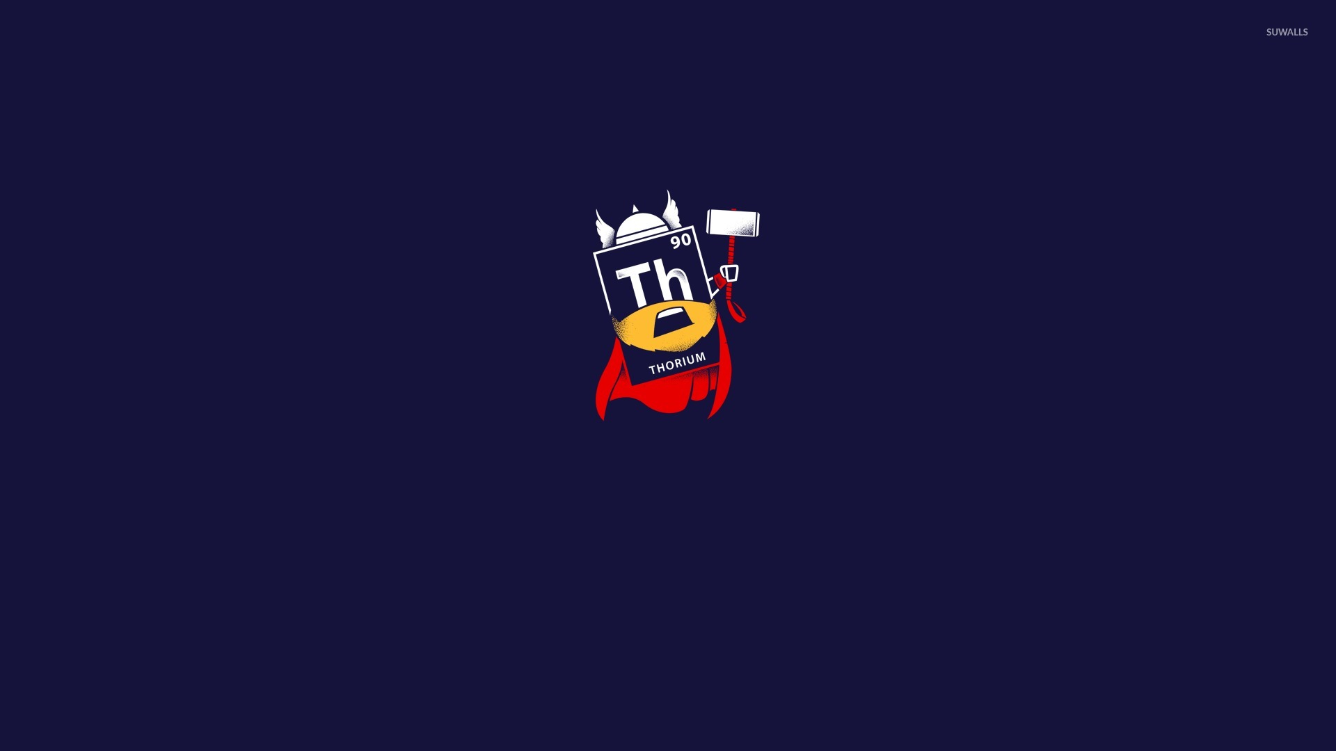 Thorium As Thor Wallpaper