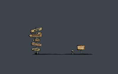 Tough choice wallpaper