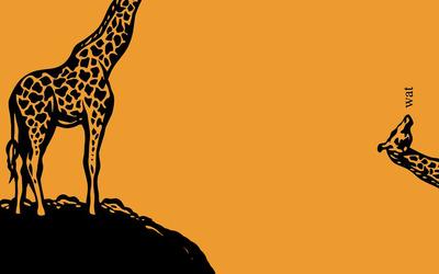 Wat Giraffe wallpaper