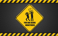 You are being monitored wallpaper 1920x1200 jpg