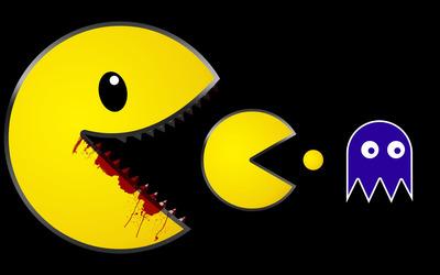 Zombie Pac-Man wallpaper