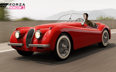 1954 Jaguar XK120 SE - Forza Horizon 2 wallpaper