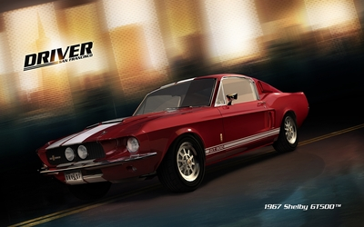 1967 Shelby GT500 - Driver: San Francisco wallpaper