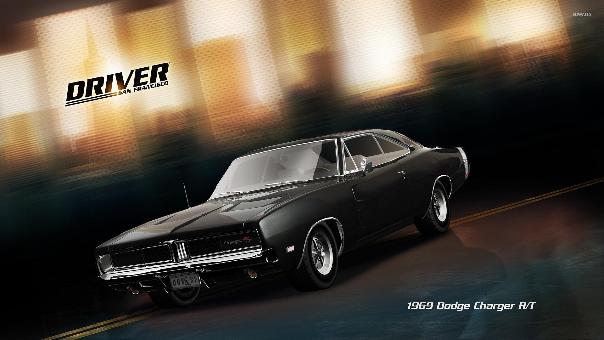 Dodge Challenger 1969 Black >> 1969 Dodge Charger R/T - Driver: San Francisco wallpaper - Game wallpapers - #34081